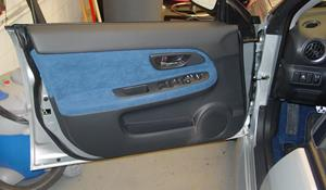 2005 Subaru Impreza Outback Sport Front door speaker location