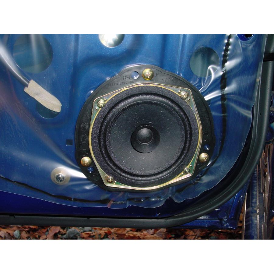 2004 Subaru Impreza Outback Sport Rear door speaker