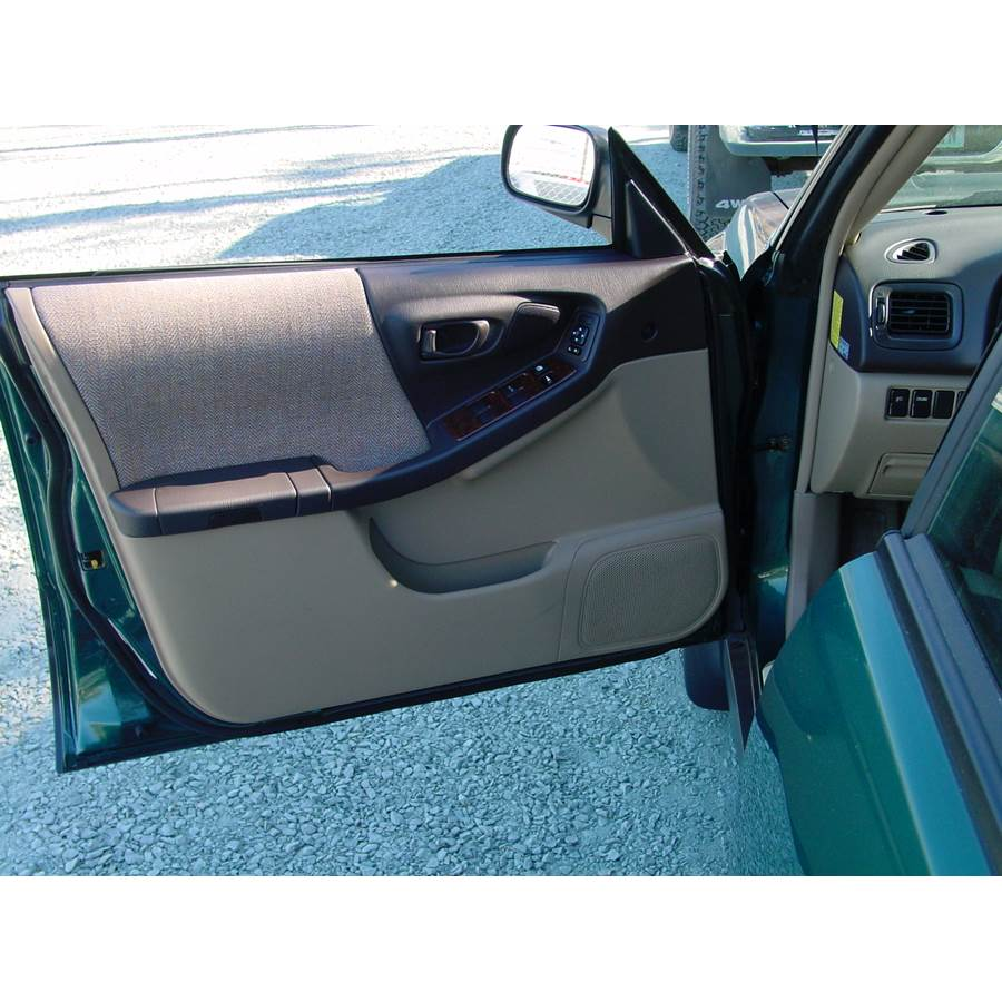 2001 Subaru Forester Front door speaker location