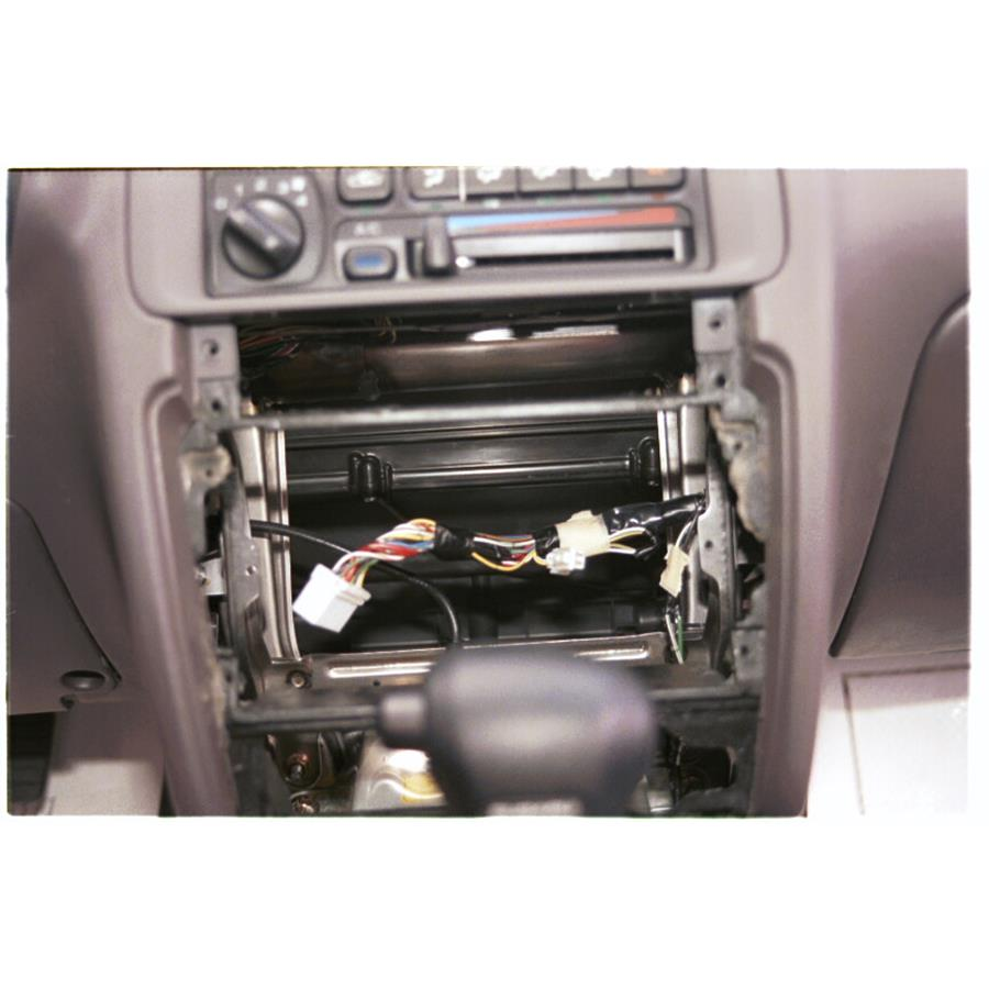 1999 Subaru Outback Factory radio removed