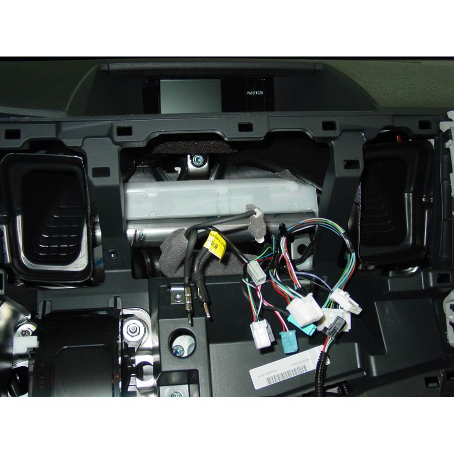 2011 Toyota Sienna Factory radio removed