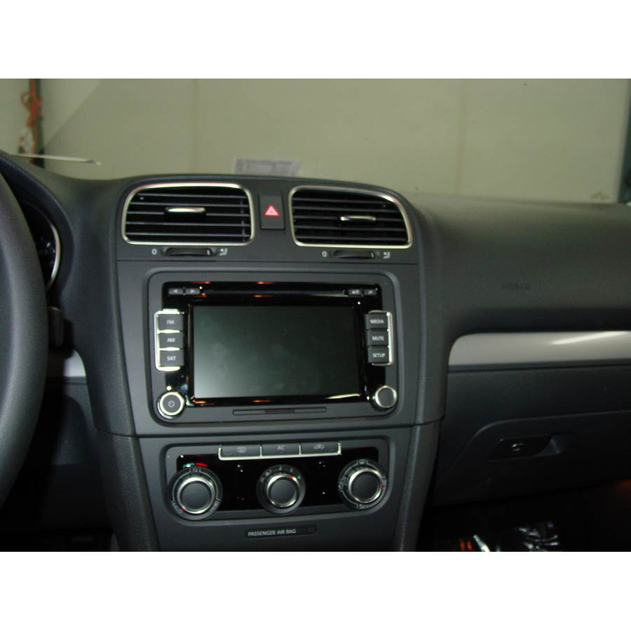 2012 Volkswagen Golf Other factory radio option