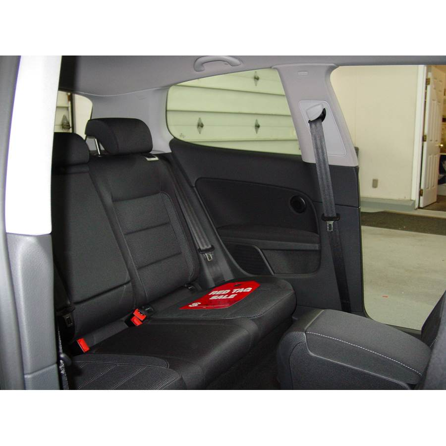 2012 Volkswagen Golf Rear side panel speaker location