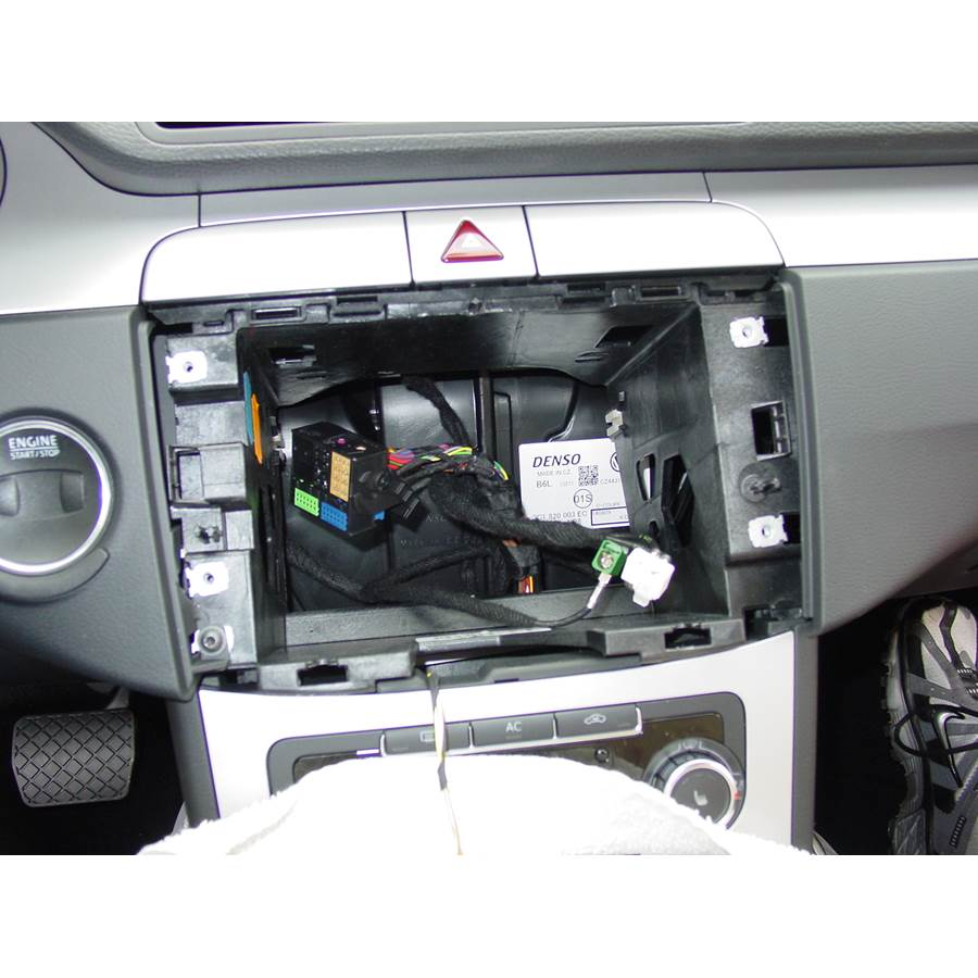 2010 Volkswagen CC Factory radio removed