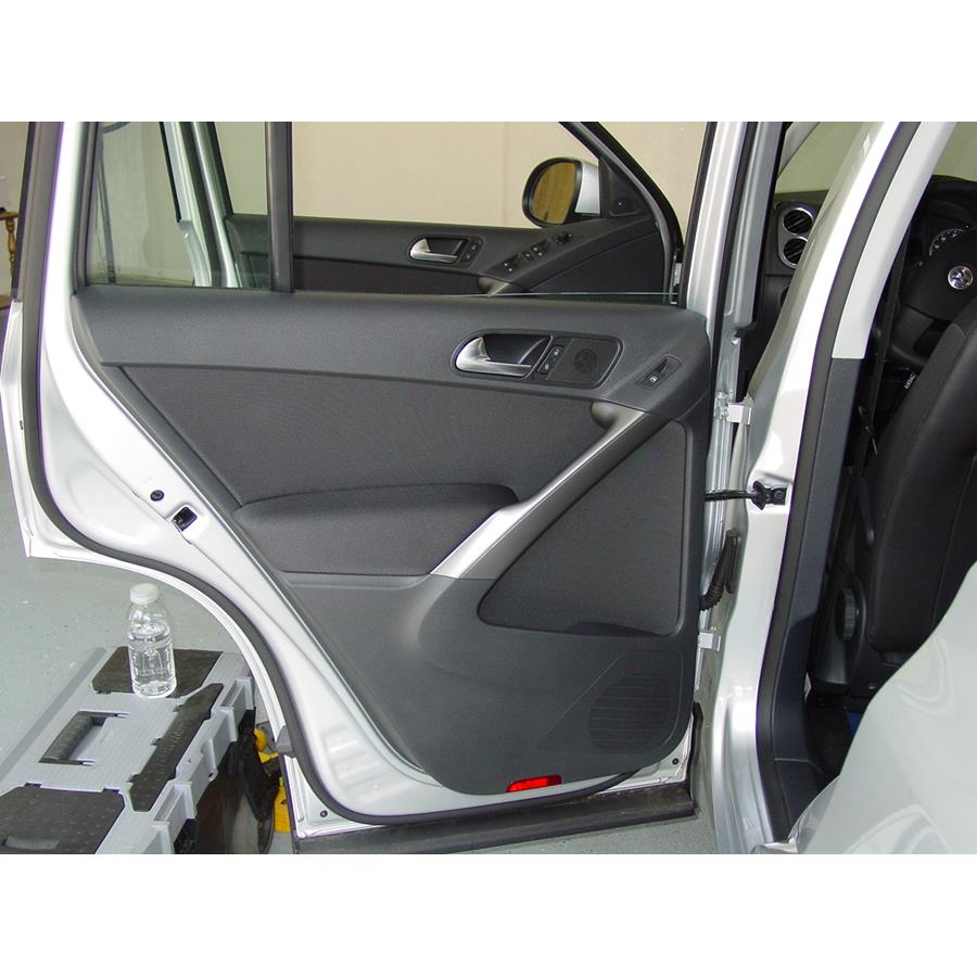 2016 Volkswagen Tiguan Rear door speaker location