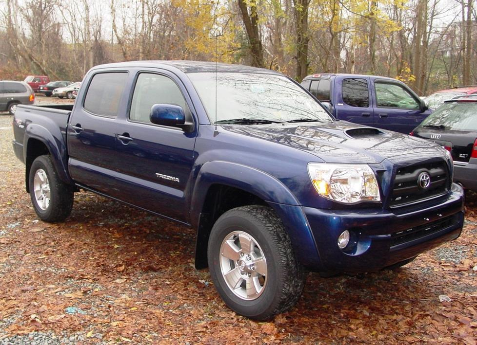 exterior 2005 2011 toyota tacoma double cab car audio profile