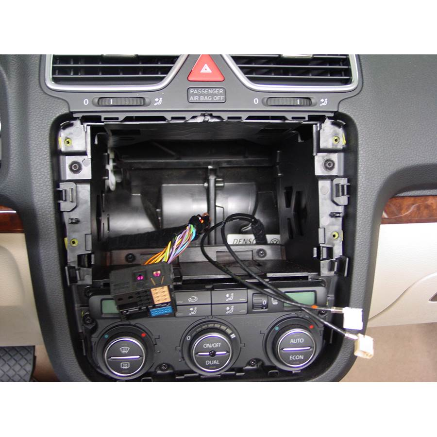 2014 Volkswagen Eos Factory radio removed