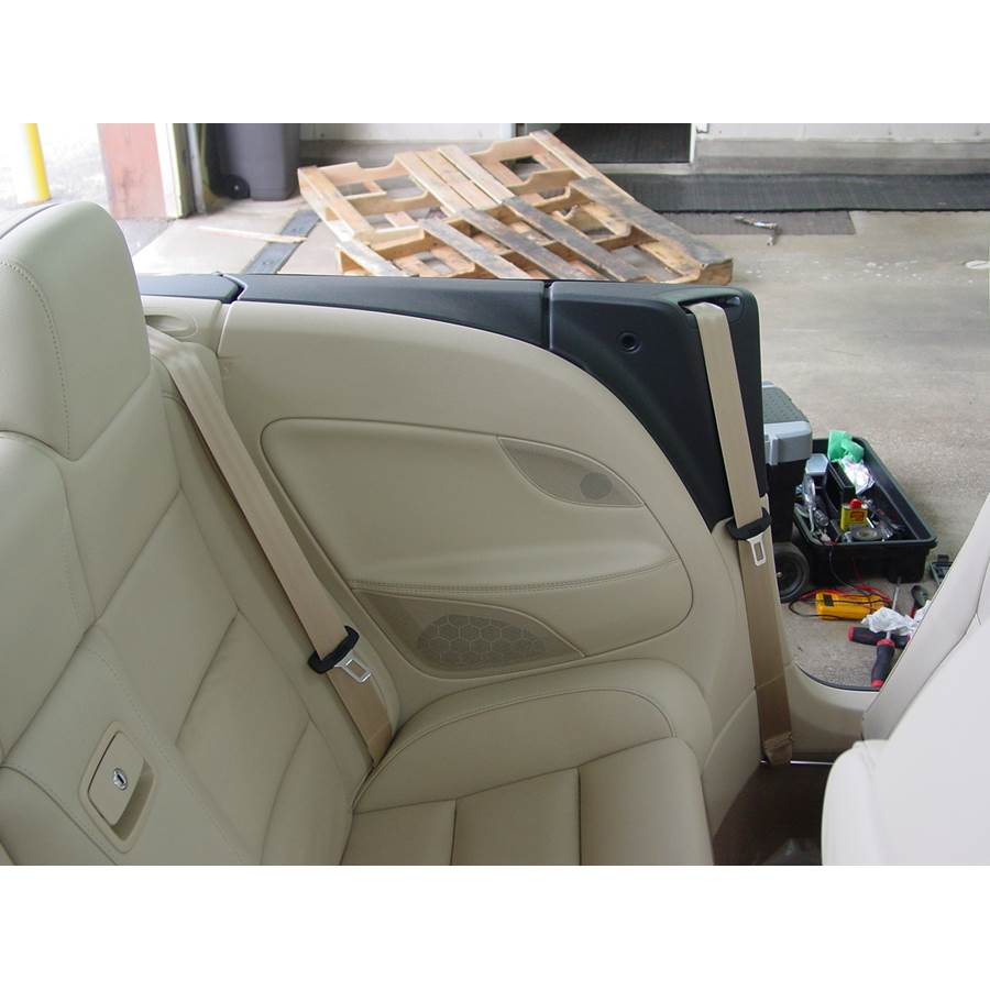 2014 Volkswagen Eos Rear side panel speaker location