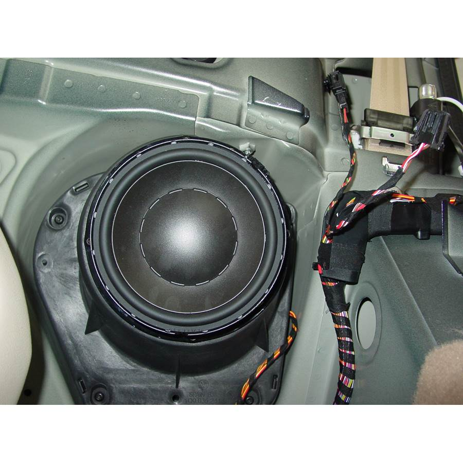 2014 Volkswagen Eos Rear side panel speaker