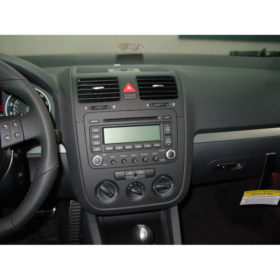 2008 Volkswagen Rabbit Factory Radio