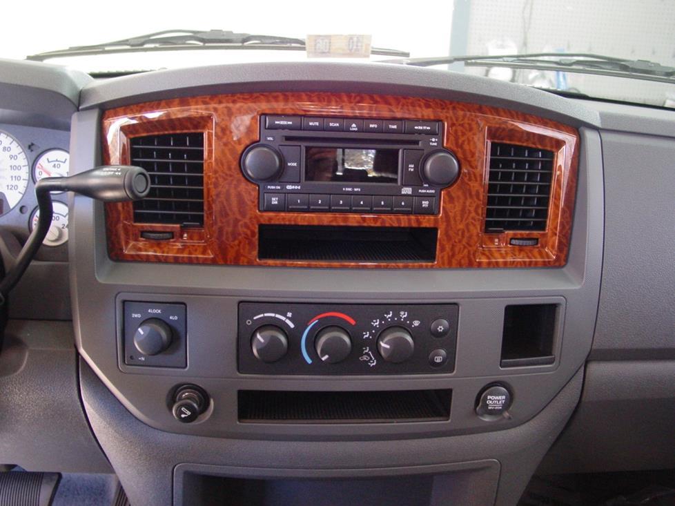 2006 2008 Dodge Ram Mega Cab Car Audio Profile