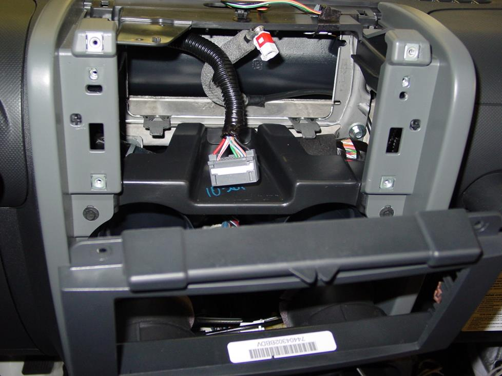Upgrading the Stereo System in Your 2007-2010 Jeep Wrangler ... on jeep exhaust gasket, jeep electrical harness, jeep visor clip, jeep seat belt harness, jeep knock sensor, jeep key switch, jeep tach, jeep condensor, jeep gas sending unit, jeep wiring diagram, jeep engine harness, jeep bracket, jeep wire connectors, jeep carrier bearing, jeep sport emblem, jeep wiring connectors, jeep intake gasket, jeep relay wiring, jeep exhaust leak, jeep vacuum advance,