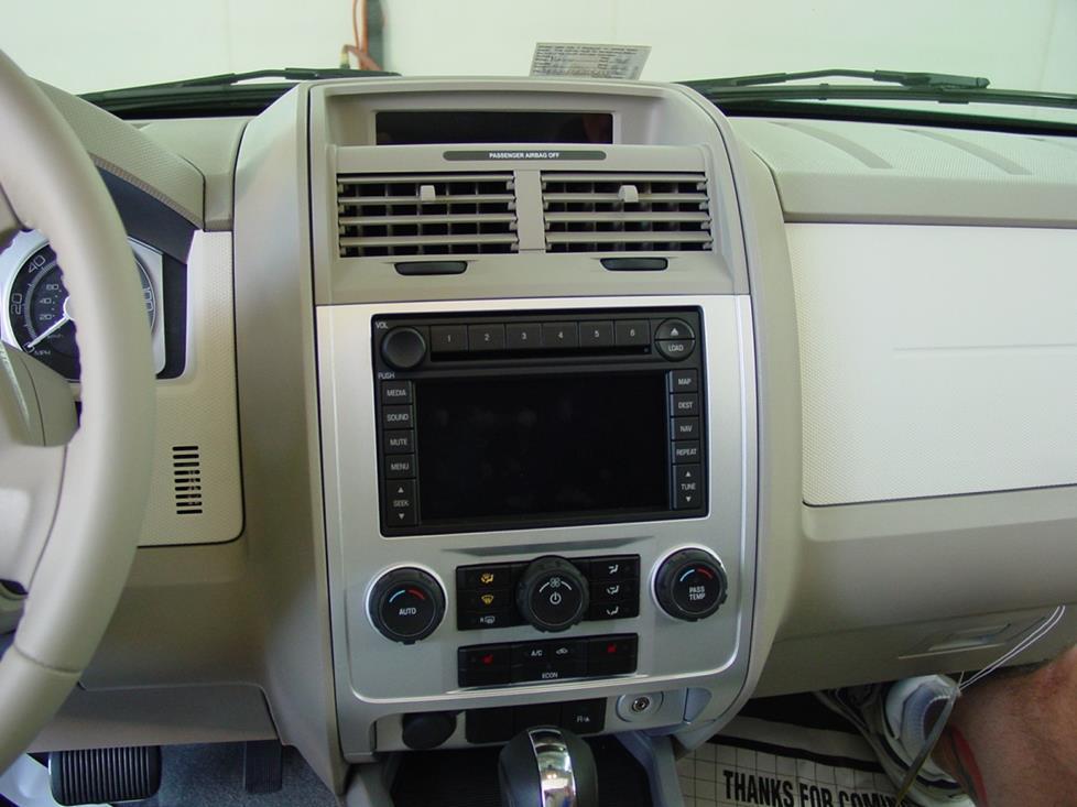 2008 2012 ford escape mercury mariner and mazda tribute car audio profile