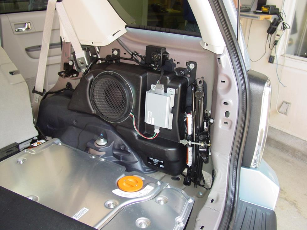 Ford Escape subwoofer
