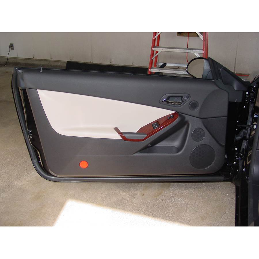 2007 Pontiac G6 Front door speaker location