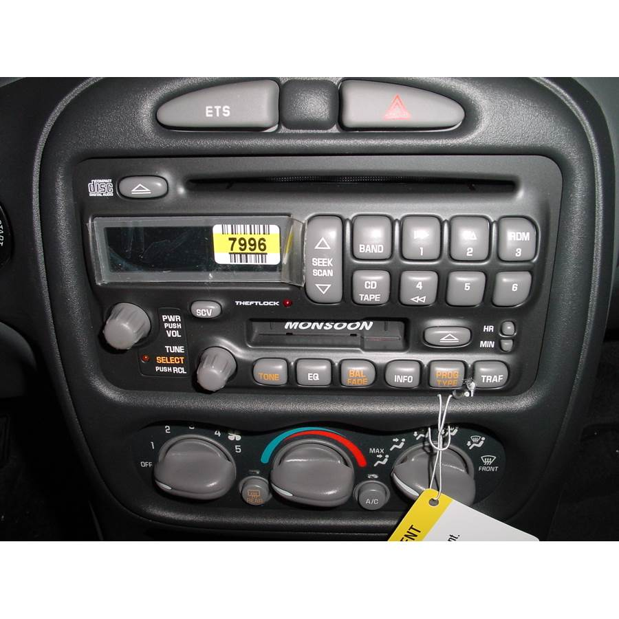 2002 Pontiac Grand Am Factory Radio