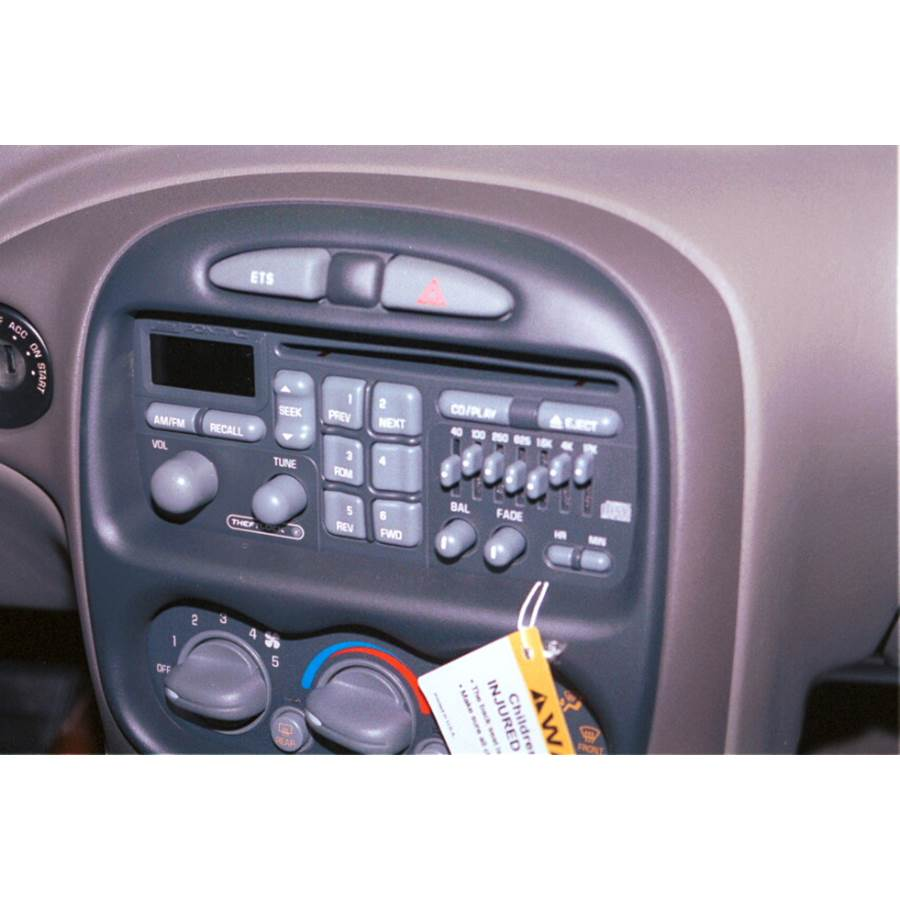 2000 Pontiac Grand Am Factory Radio