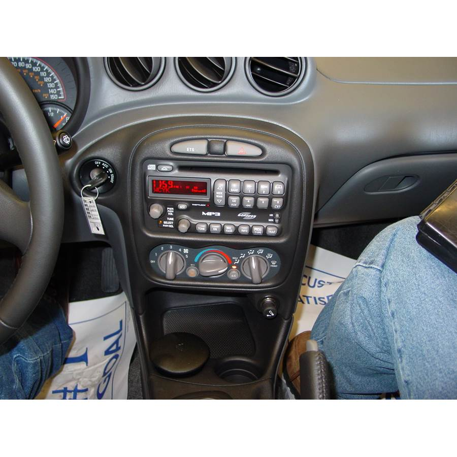2002 Pontiac Grand Am Other factory radio option