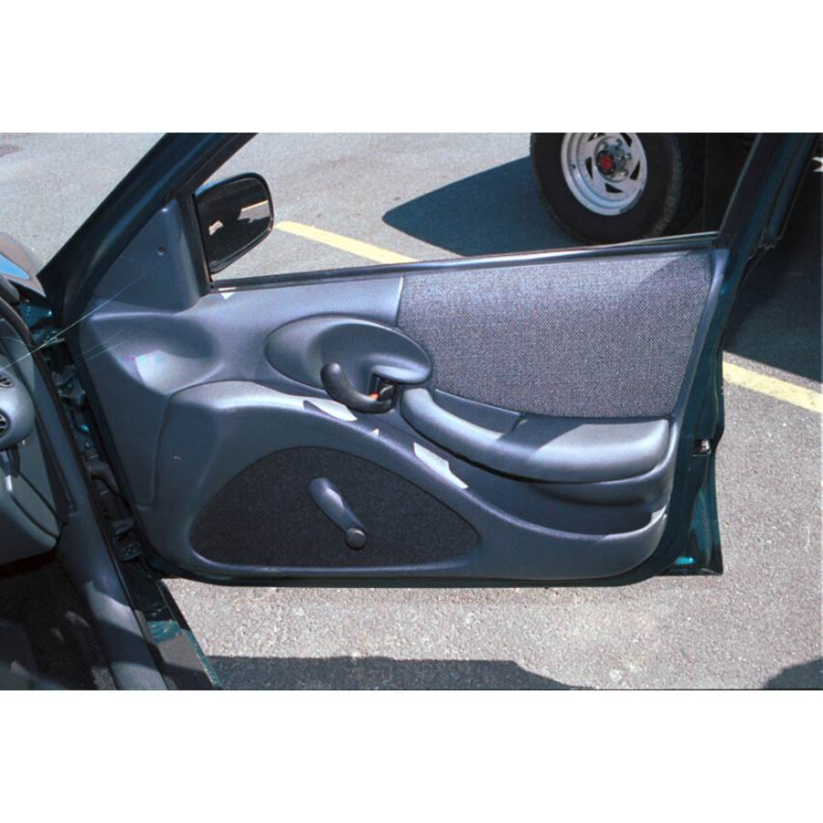 1998 Pontiac Sunfire Front door speaker location