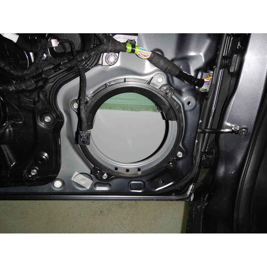 2017 Mazda 6 Front speaker removed