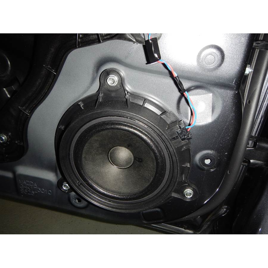 2014 Mazda 6 Rear door speaker