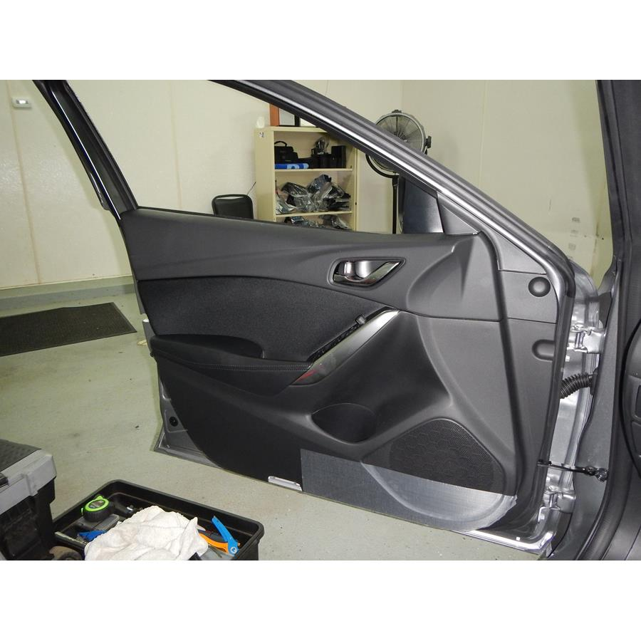 2014 Mazda 6 Front door speaker location
