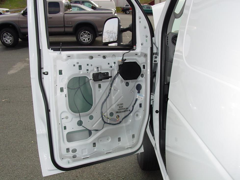 Ford E-Series front door