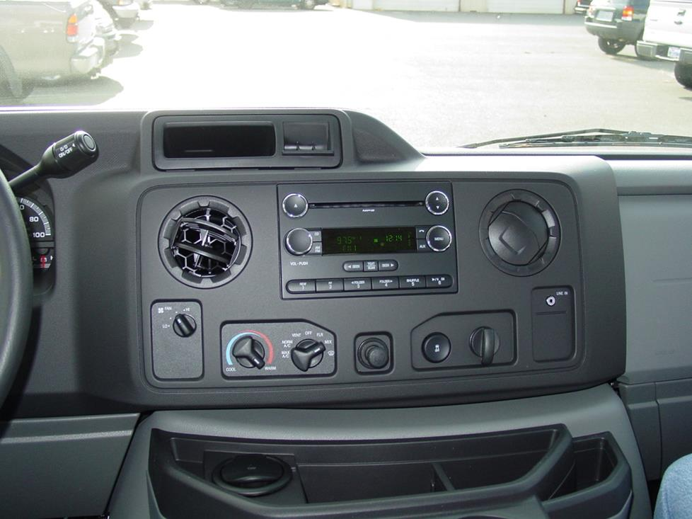 Ford E-Series radio