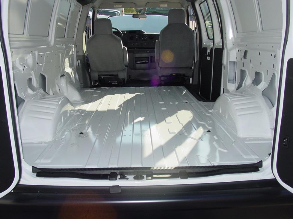 Ford E-Series cargo area
