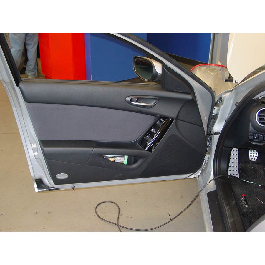 2009 Mazda RX8 Front door speaker location