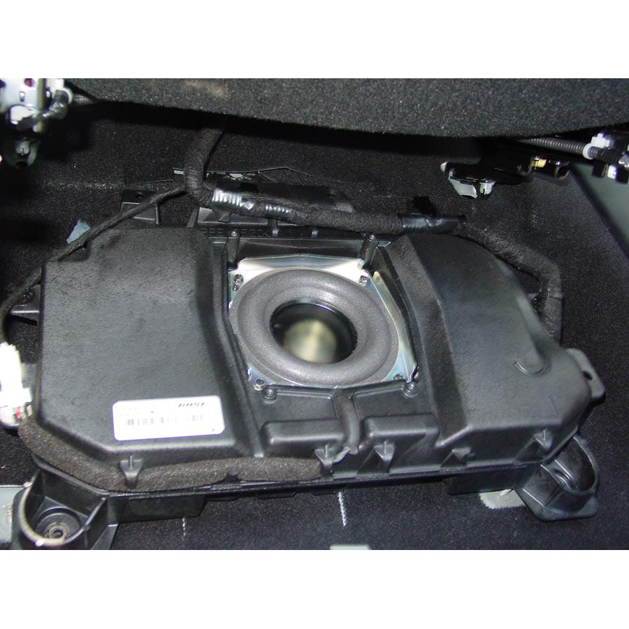 2009 Mazda Mazdaspeed3 Under front seat speaker