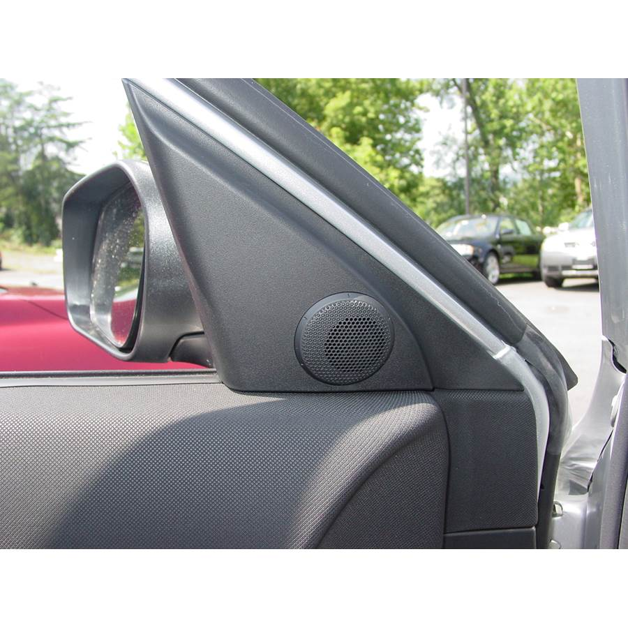 2008 Mazda 3 Front door tweeter location