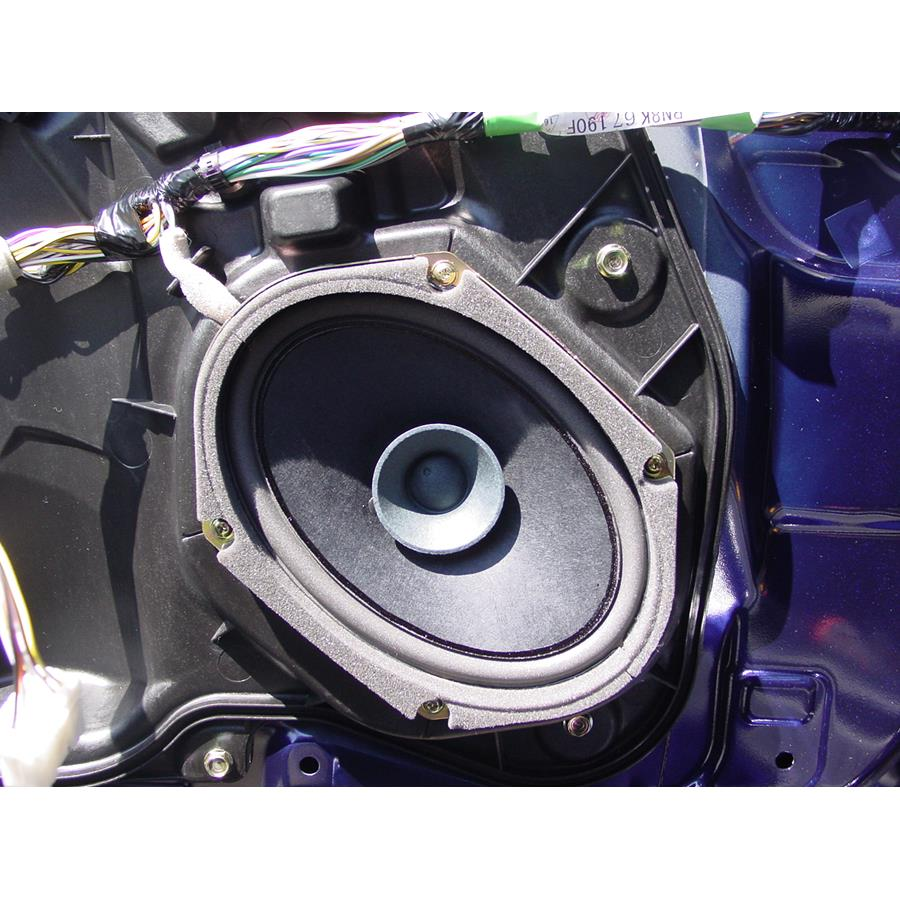 2009 Mazda Mazdaspeed3 Front door woofer