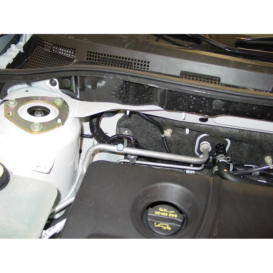 2009 Mazda Mazdaspeed3 Firewall access