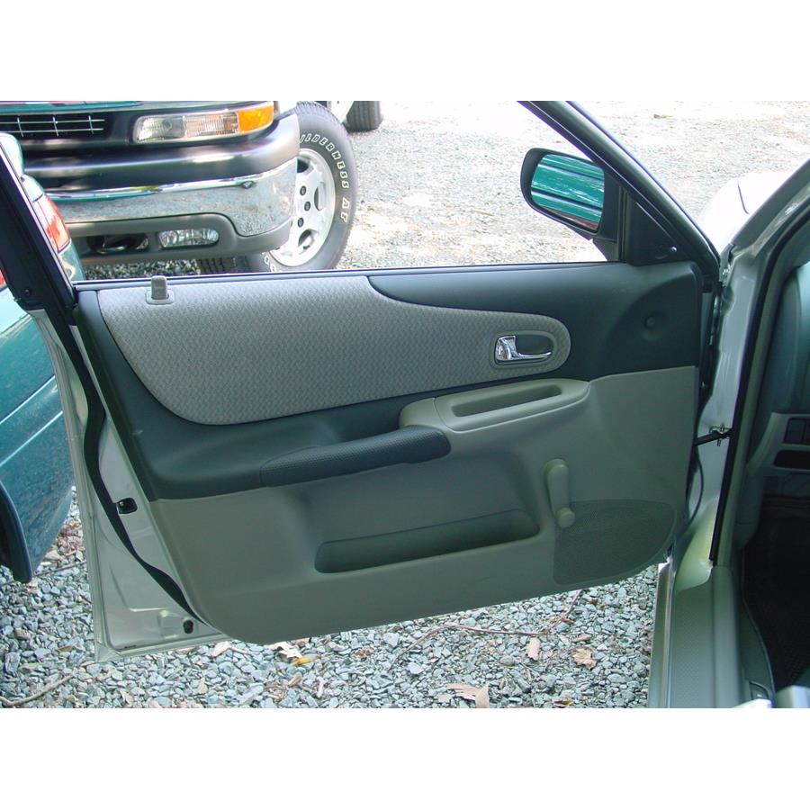 2003 Mazda Protege5 Front door speaker location