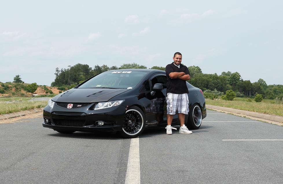 Steven A with his Civic