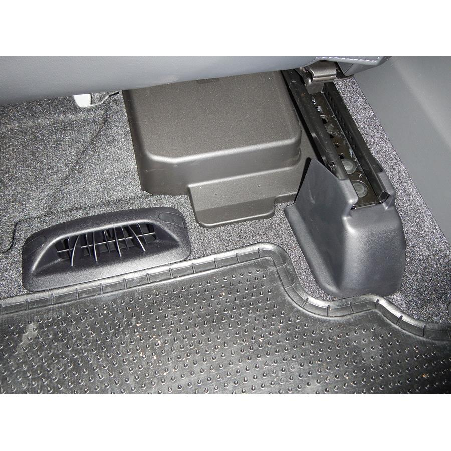 2015 Toyota Prius V Factory amplifier