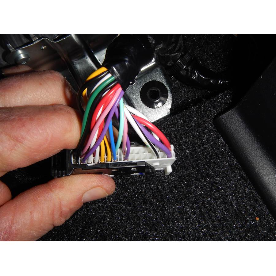 2015 Toyota Prius V Factory amp wiring