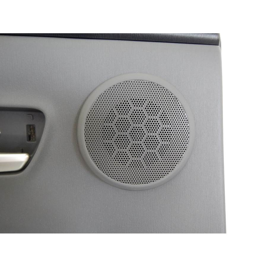2017 Toyota Prius V Rear door tweeter location