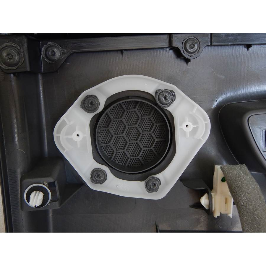 2017 Toyota Prius V Rear door tweeter removed