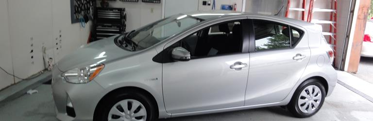 2014 Toyota Prius C - find speakers, stereos, and dash kits that fit
