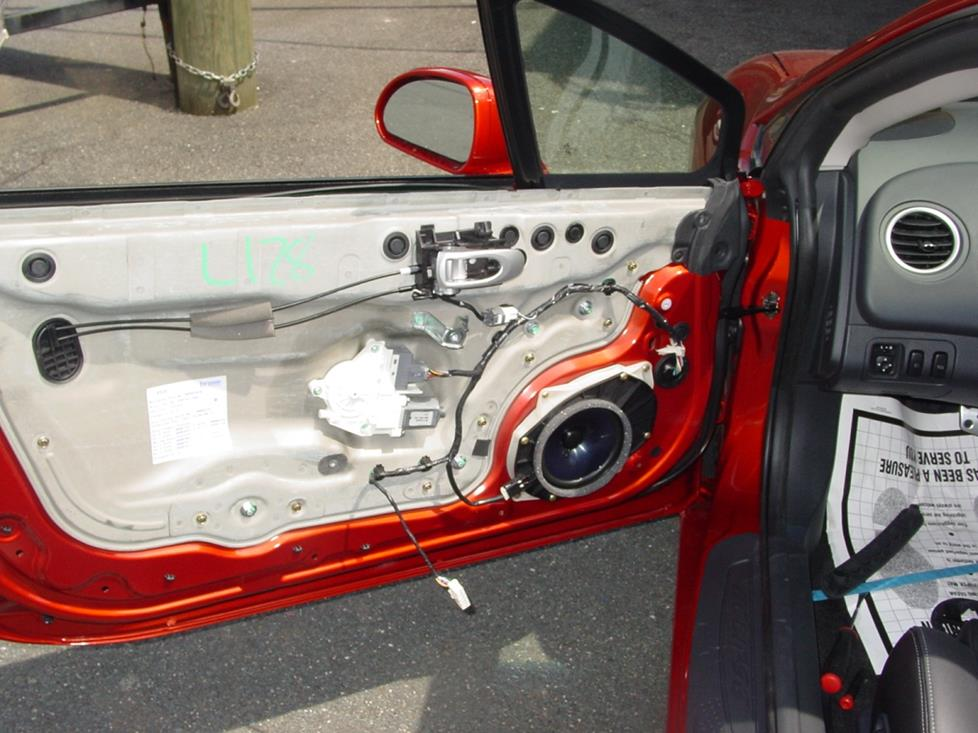 mitsubishi eclipse front door speakers