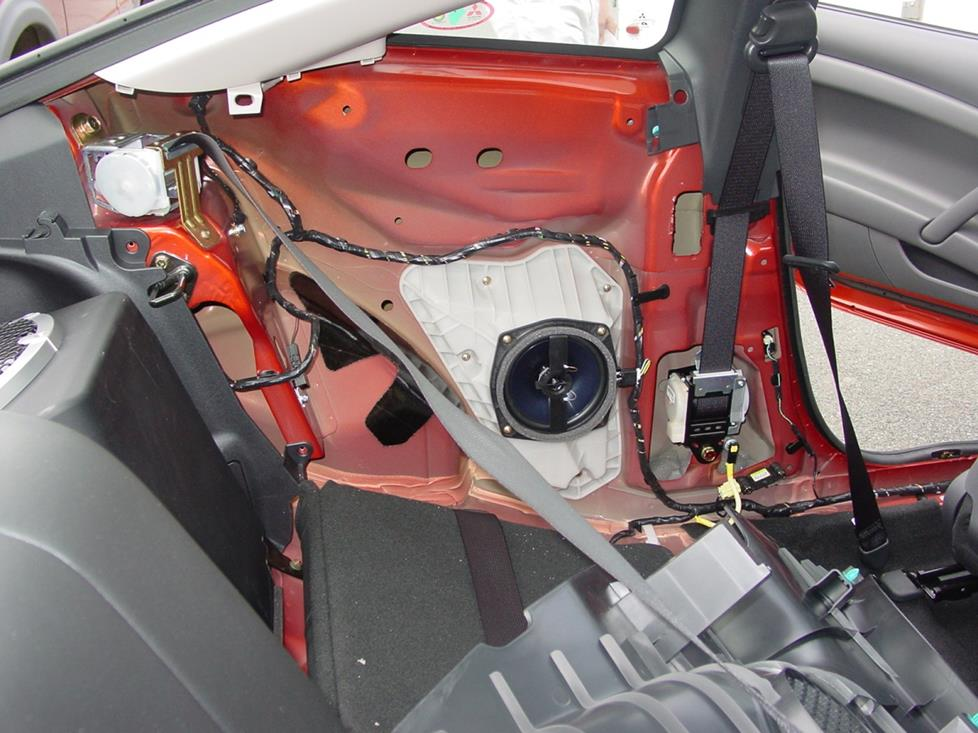 mitsubishi eclipse rear side speaker
