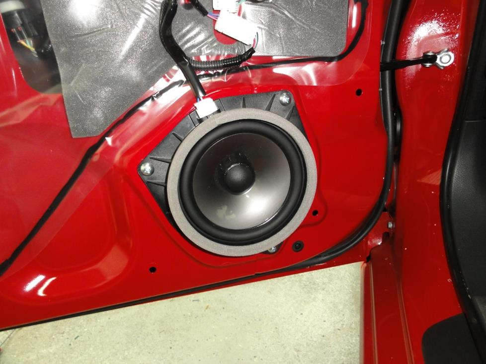 Scion FR-S front door speaker