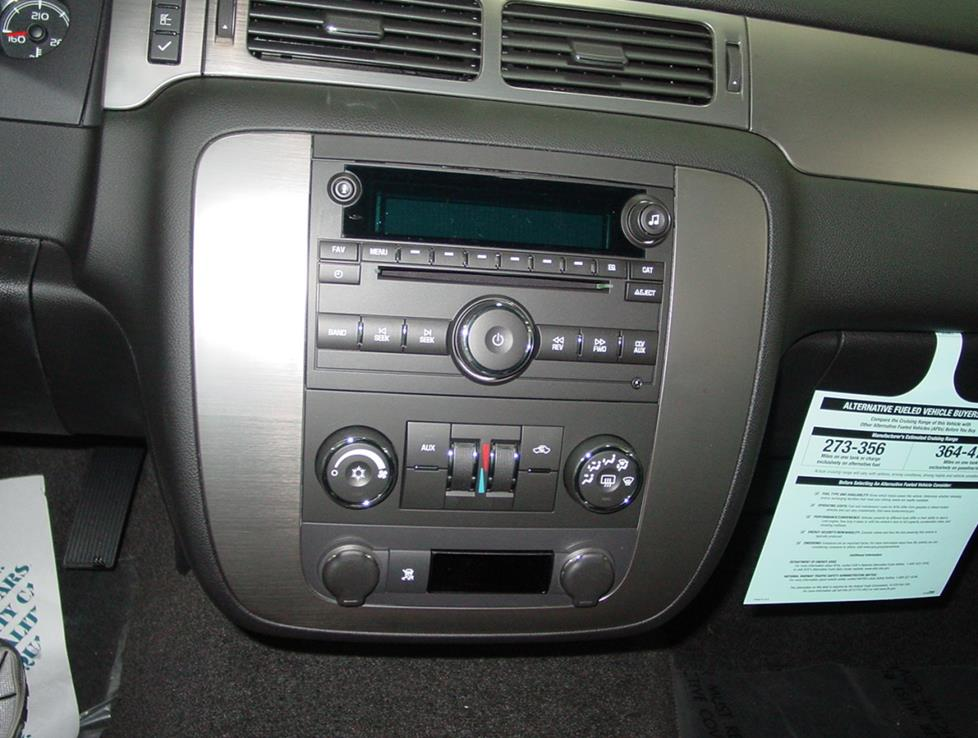 Chevy Tahoe Radio