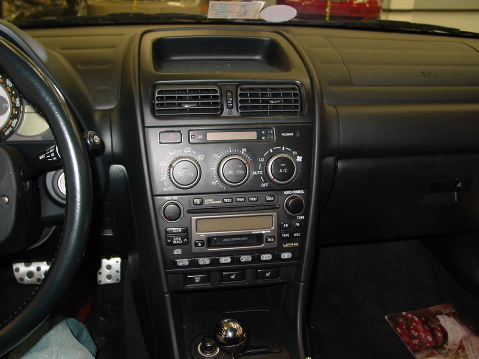 the lexus is 300 factory radio is a lot easier to deal with if you have a  2002-2005 car (crutchfield research photo)