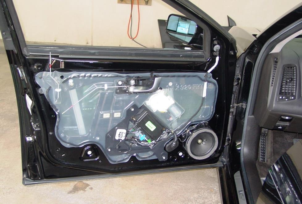 cadillac cts front door woofer