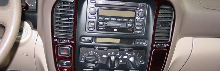2002 Toyota Land Cruiser Factory Radio