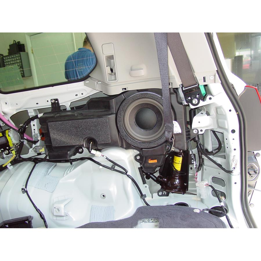 2011 Toyota Land Cruiser Far-rear side speaker