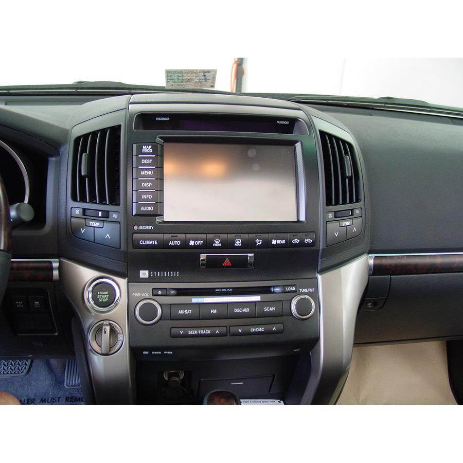 2011 Toyota Land Cruiser Factory Radio